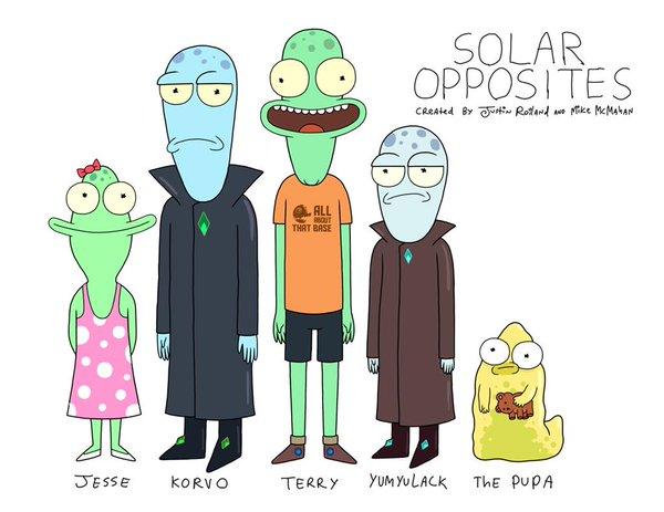 """""""Solar Opposites"""", la nuova serie animata dal Co-creatore di Rick e Morty 1"""