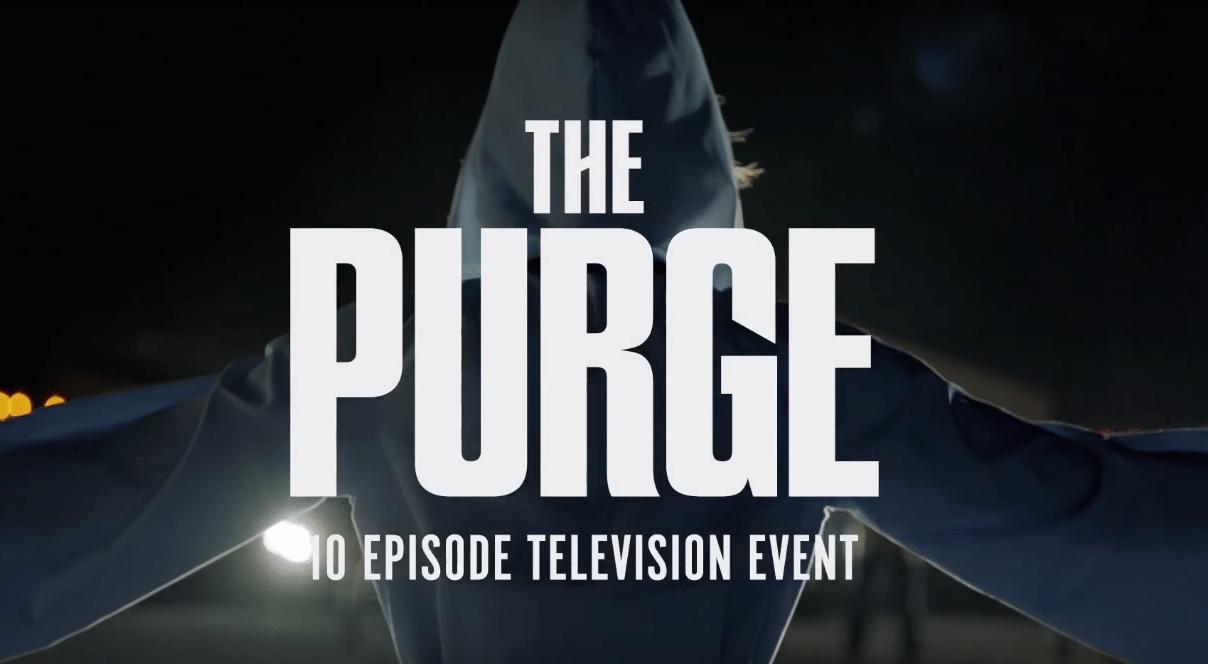 The Purge: La notte del giudizio diventa una serie tv 1