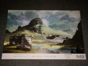 Nuovo potenziale artwork di Halo Infinite 2