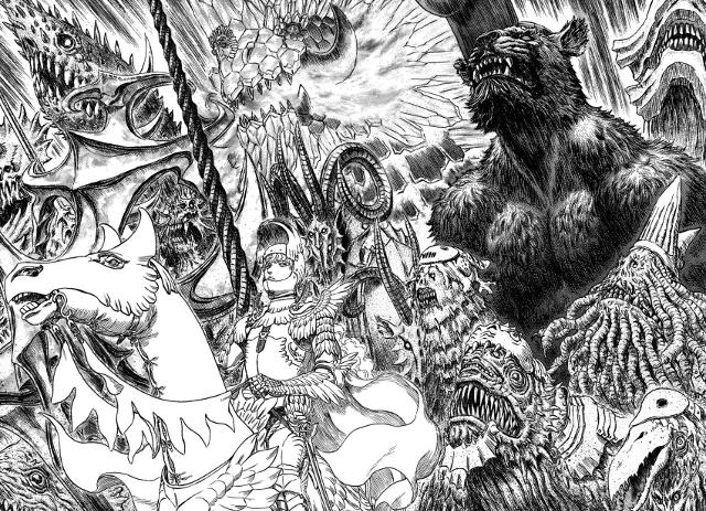 """Diamo uno sguardo alla nuova """"official guide book"""" di Berserk 3"""