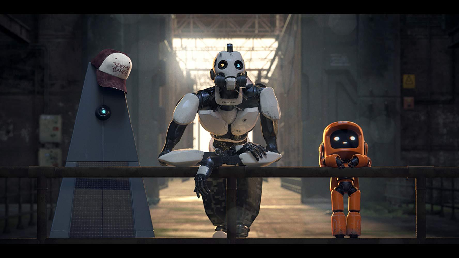 L,D&R - Tre Robot: Tanto humor, ma poco black 1