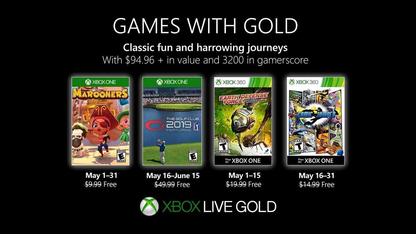 Games with Gold Maggio 2019: ecco i giochi di questo mese 1