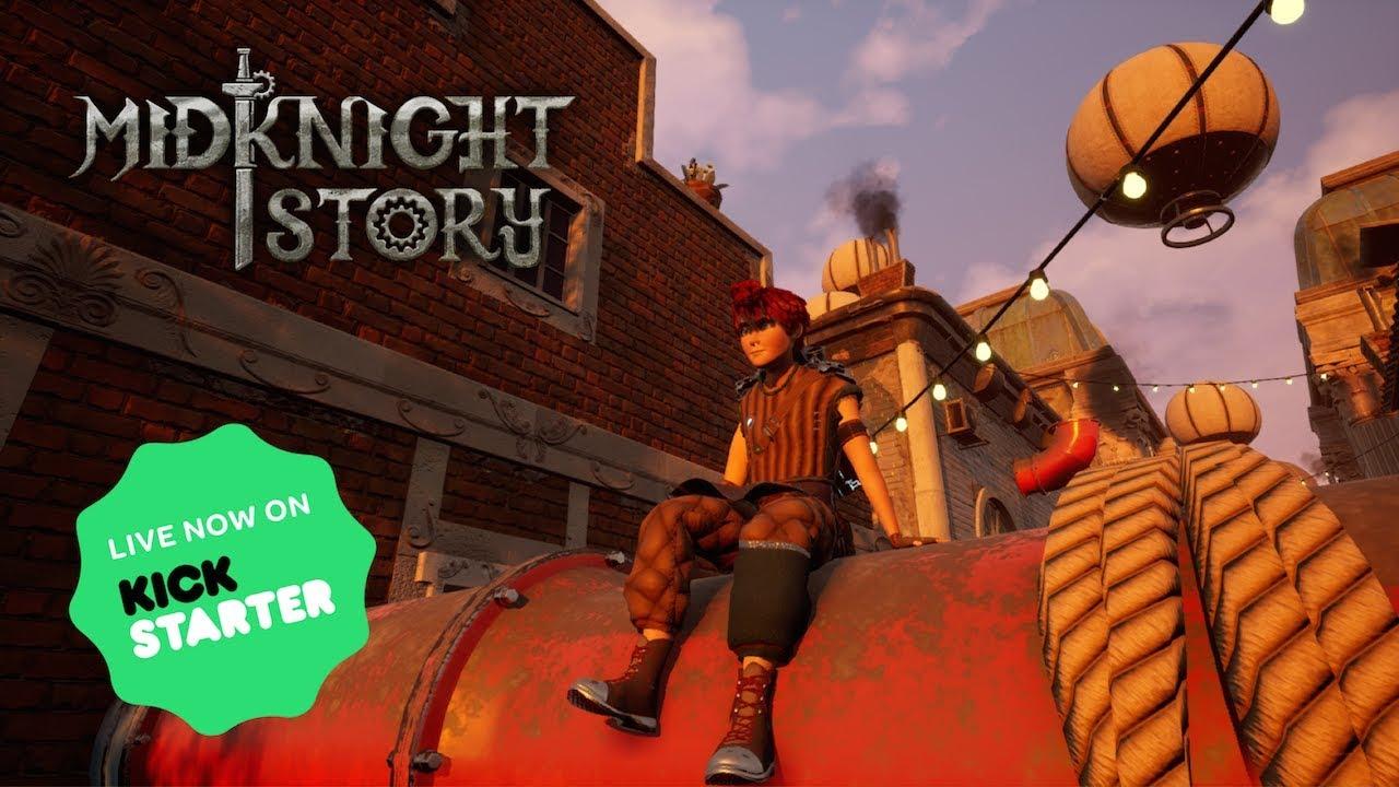 Scopriamo MidKnight Story con il suo creatore Mattia Ciurlino 1