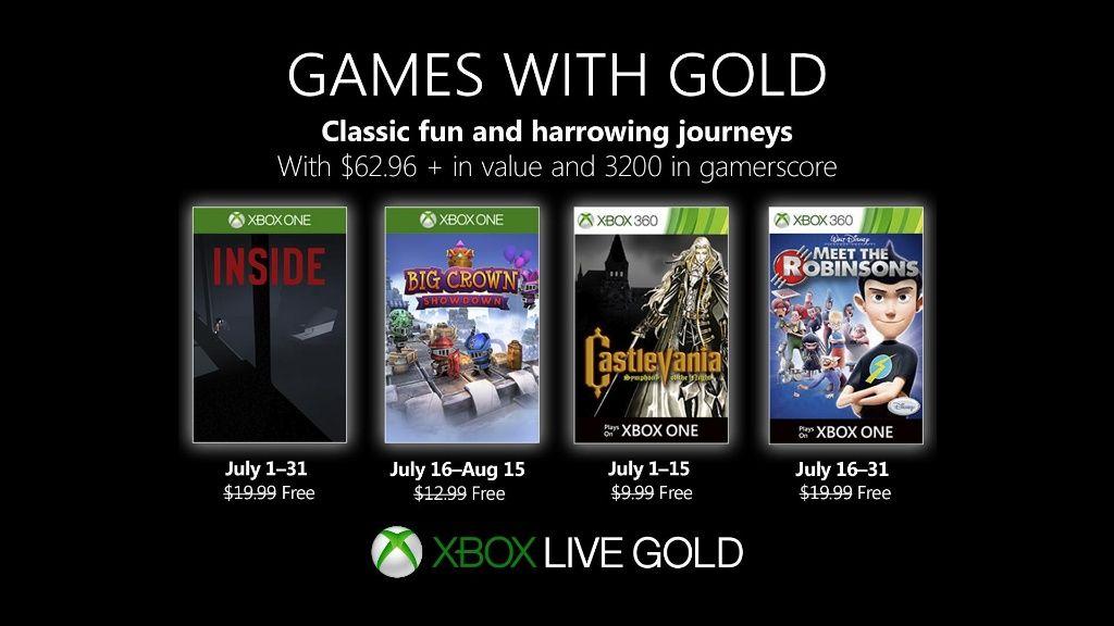 Games with Gold luglio 2019: ecco i giochi di questo mese 1