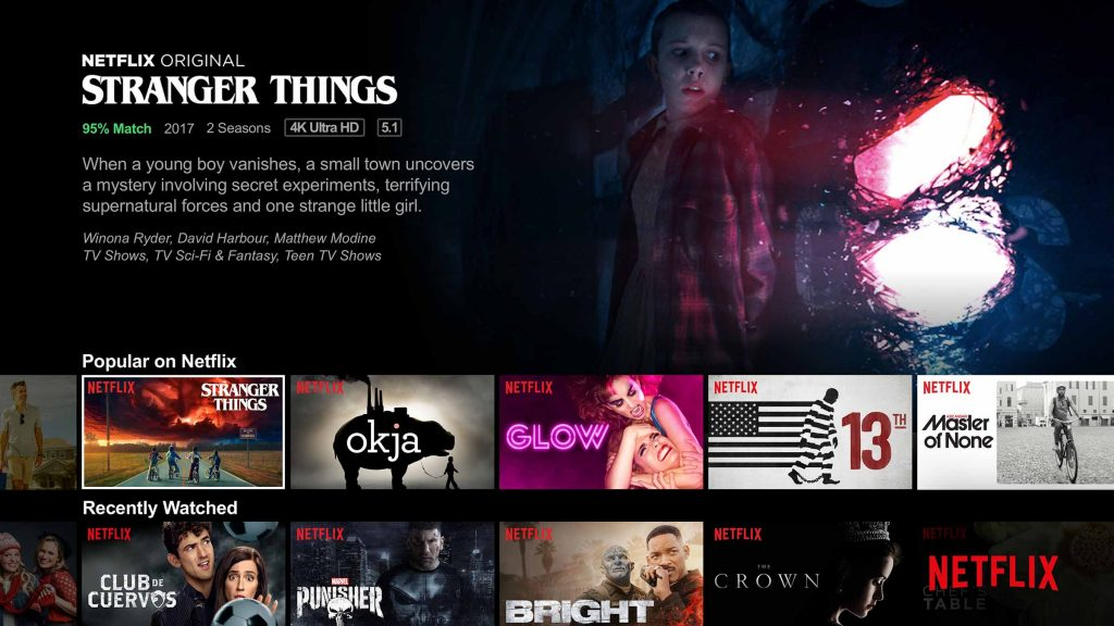 netflix amazon prime video streaming