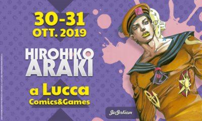 Araki al Lucca Comics & Games 2019 e come ottenere un suo disegno 14