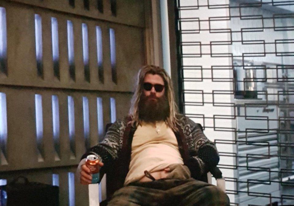 """Un Thor sovrappeso che ricorda """"vagamente"""" Lebowski"""