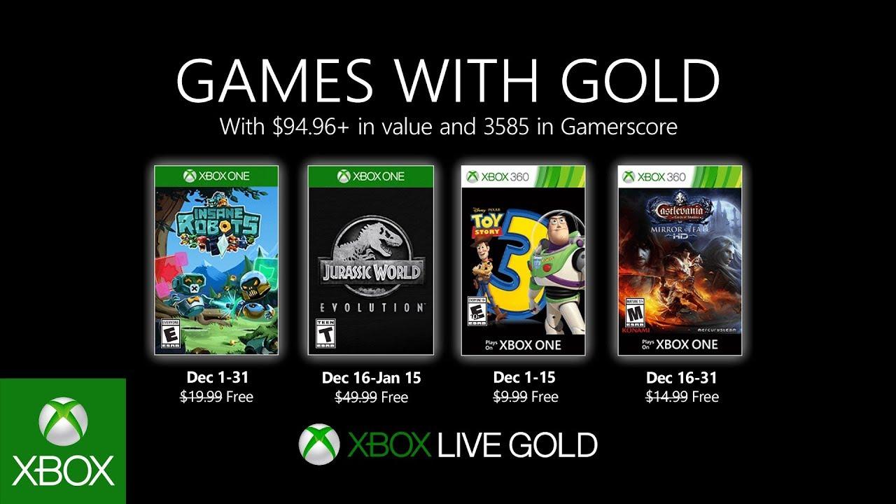 Games with Gold Dicembre 2019: ecco i giochi di questo mese 1