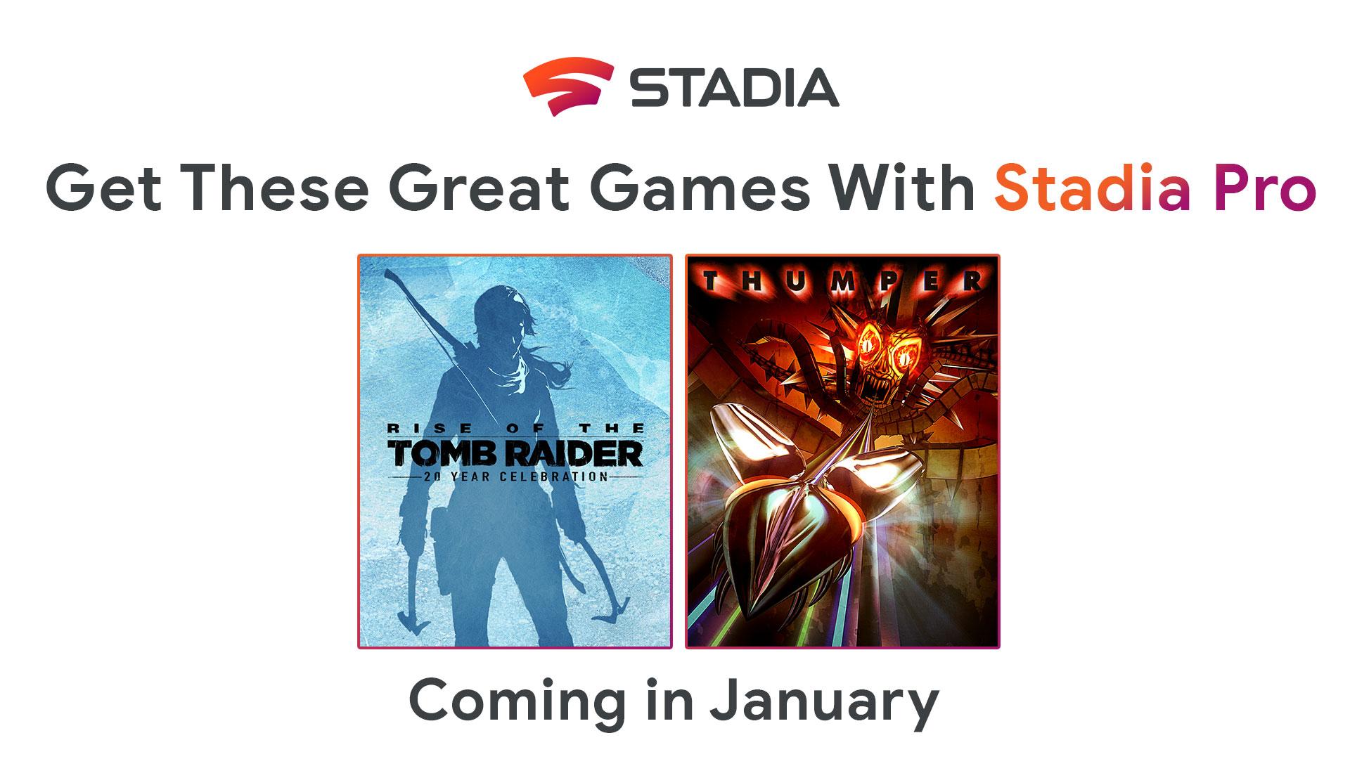 Google Stadia Pro: annunciati i primi due giochi gratuiti del 2020 1