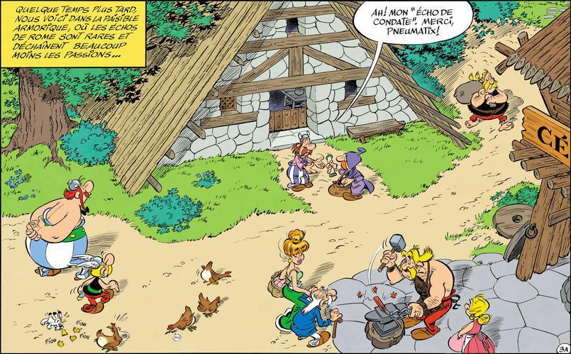 asterix fumetti
