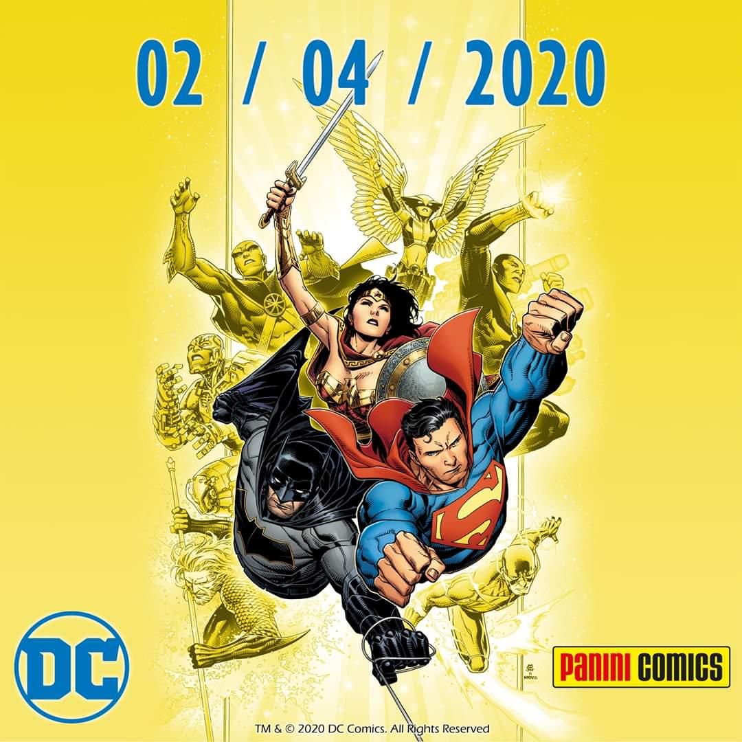 Panini pubblicherà i fumetti DC in Italia 1