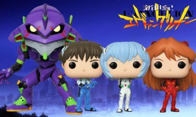 Neon Genesis Evangelion: Funko annuncia i Pop 11