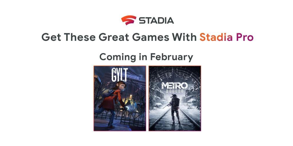 Google Stadia Pro: annunciati i titoli gratuiti di febbraio 2020 1