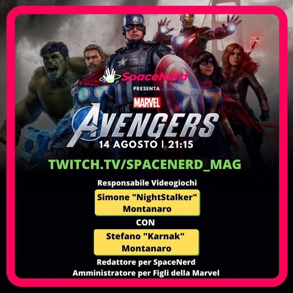 Marvel's Avengers: in live domani sera alle 21:15! 1