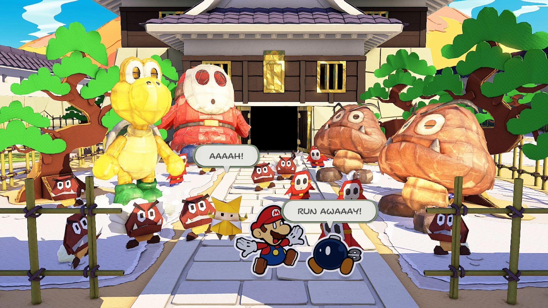 Paper Mario: la rincorsa di Origami King verso la perfezione di The Thousand-Year Door 10
