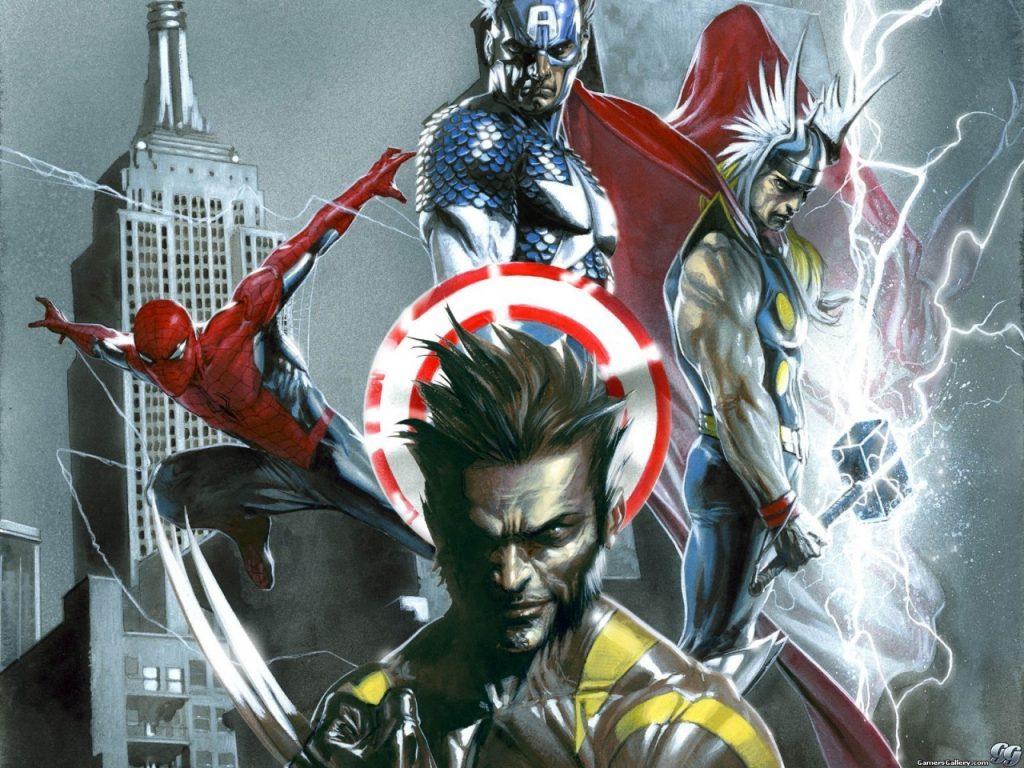 I supereroi nei videogames - Marvel La Grande Alleanza