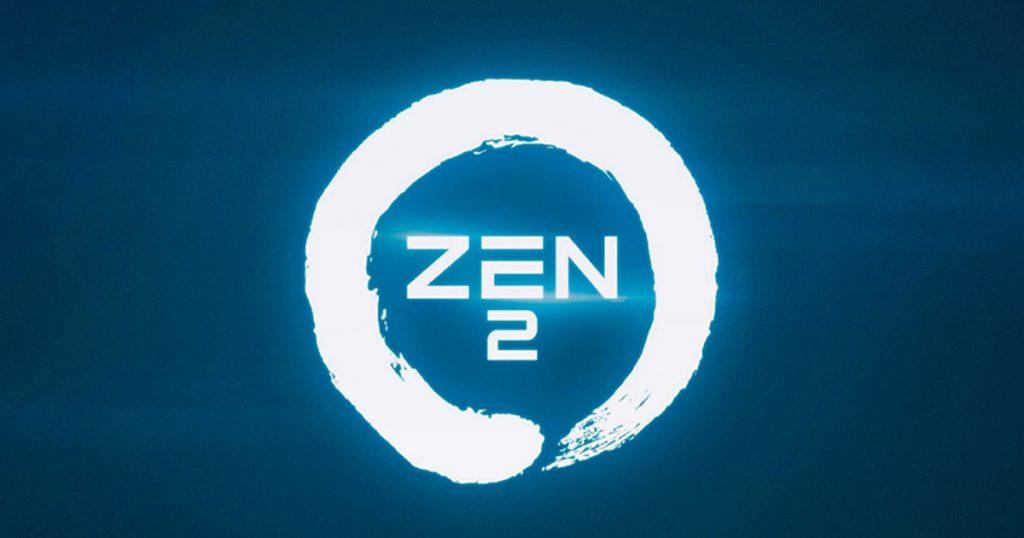 Arriva la next-gen - Logo AMD Zen 2