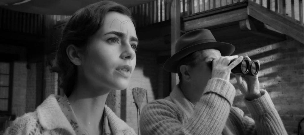 Netflix Mank Gary Oldman David Fincher Lily Collins