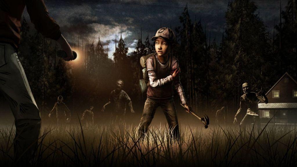 The walking Dead videogame Telltale Clementine Walkers