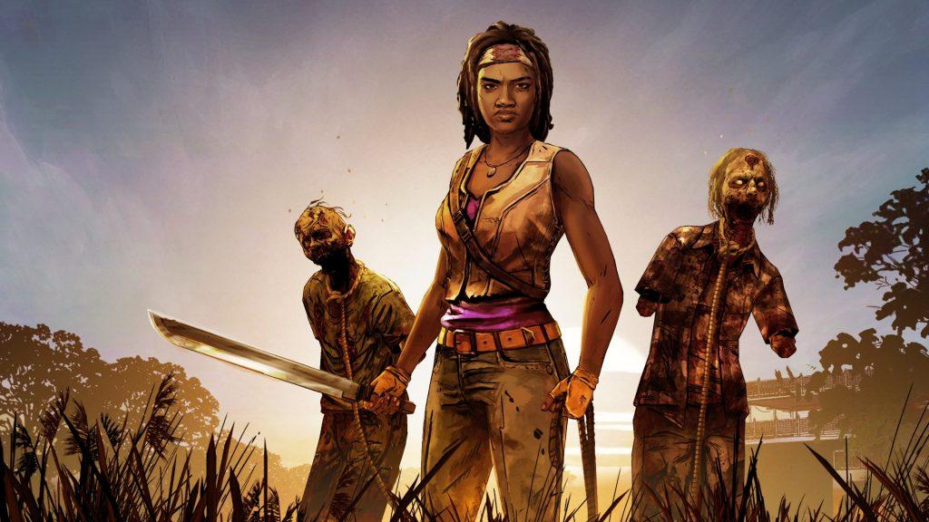 The Walking Dead Michonne videogame Telltale Walkers