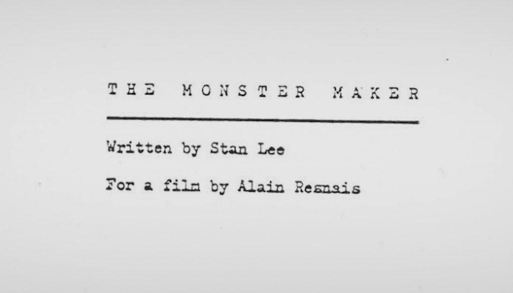 The Monster Maker Stan Lee Alain Resnais
