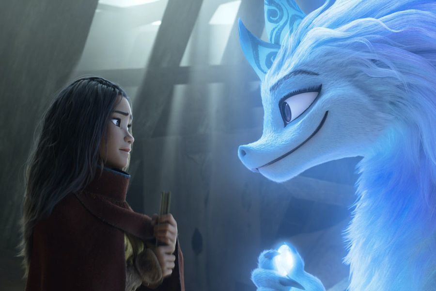 Raya e l'ultimo drago and the last dragon Sisu Disney Plus
