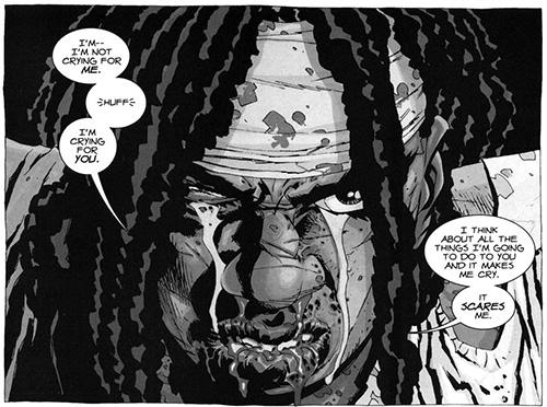 The Walking Dead Robert Kirkman comics fumetti Michonne zombie