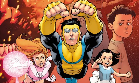 Invincible Robert Kirkman Image Comics Mark Grayson