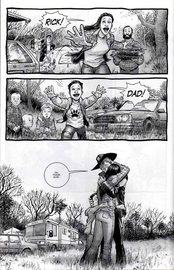 The Walking Dead Robert Kirkman comics fumetti Rick zombie