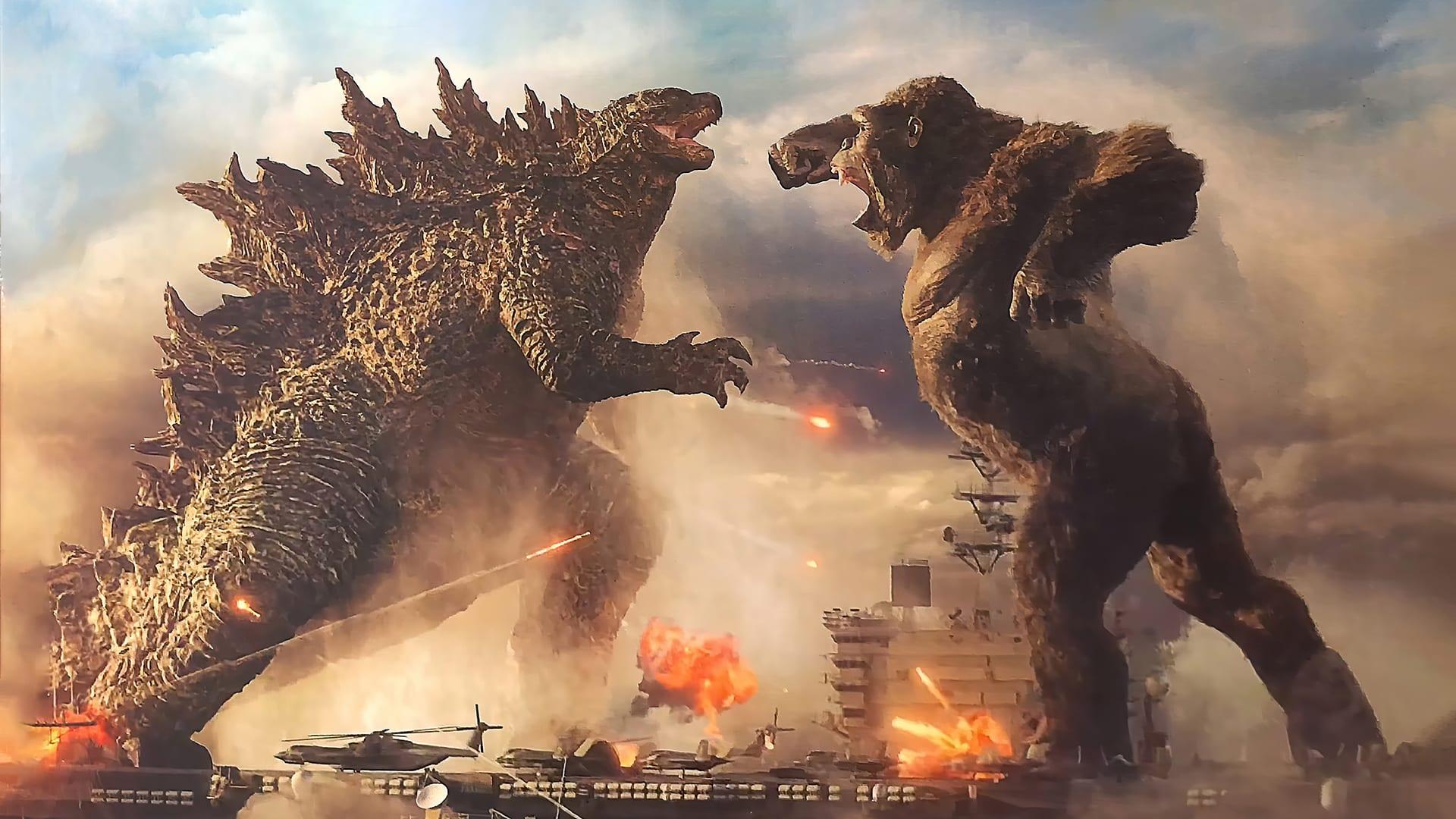 Godzilla vs. Kong è record d'incassi al day one in pieno Covid-19
