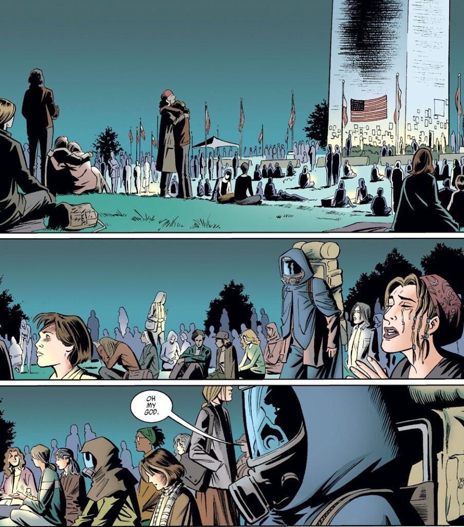 Yorick Y L'Ultimo Uomo Image Comics Brian Vaughan