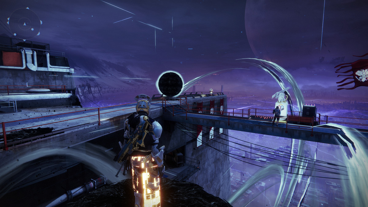 Destiny 2's Tower bought Taken, however the NPC don't appear to note - Enter21st.com